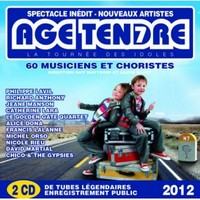 CD - Age tendre 2012