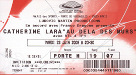 Billet concert Palais des sports Paris