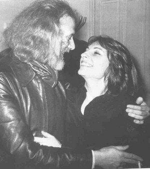 Georges Moustaki et Catherine Lara