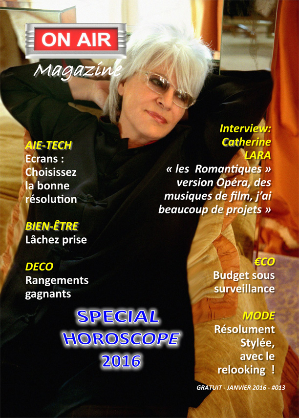 On Air Magazine - Janvier 2015