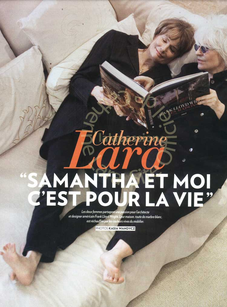 Catherine Lara Paris Match 2011