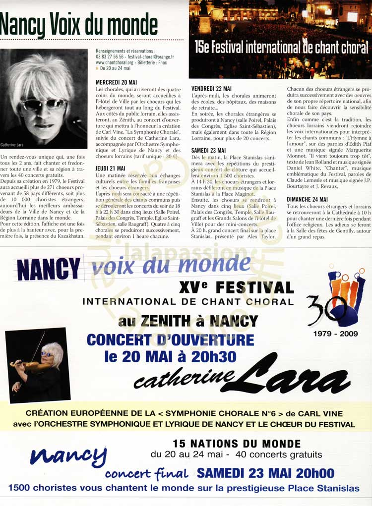 Magazine Spectacle Nancy n°256 - Mai